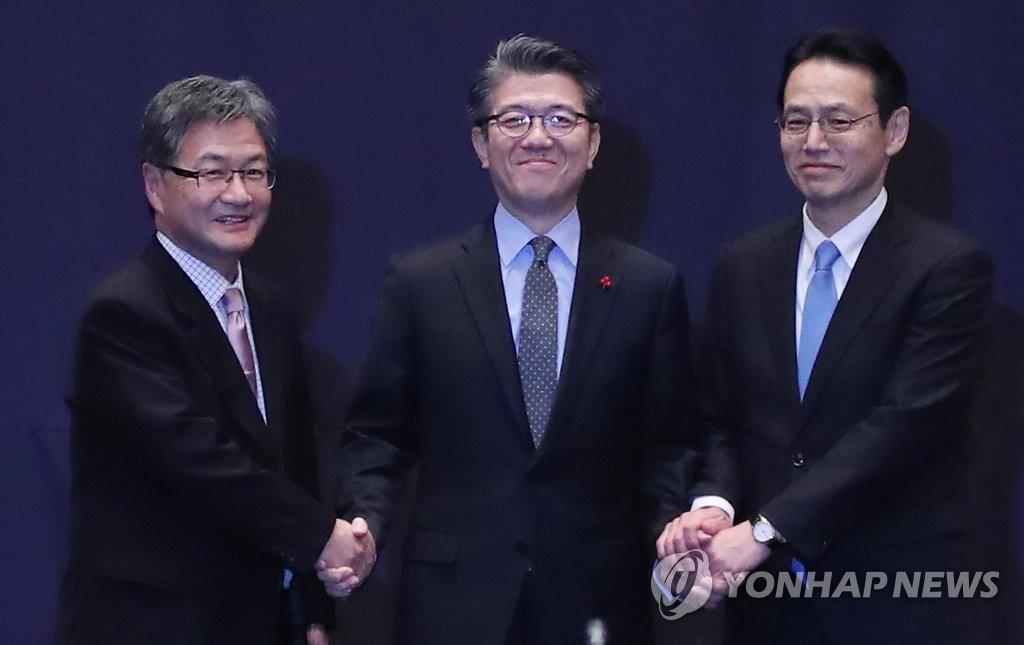 六方会谈韩日团长讨论朝核与金正男遇刺案