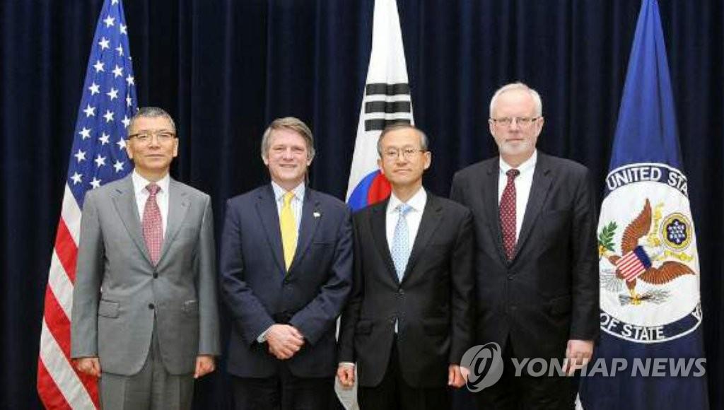 韩哥举行副外长级会议商讨朝核问题 - 1