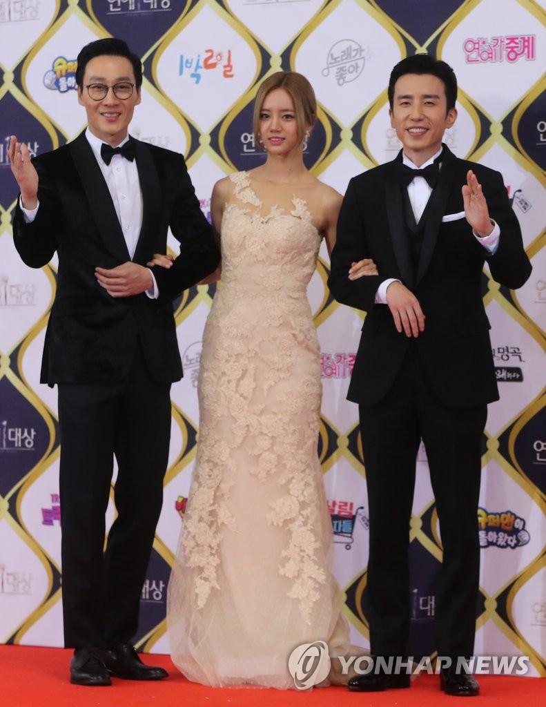 KBS演艺大赏3名主持人