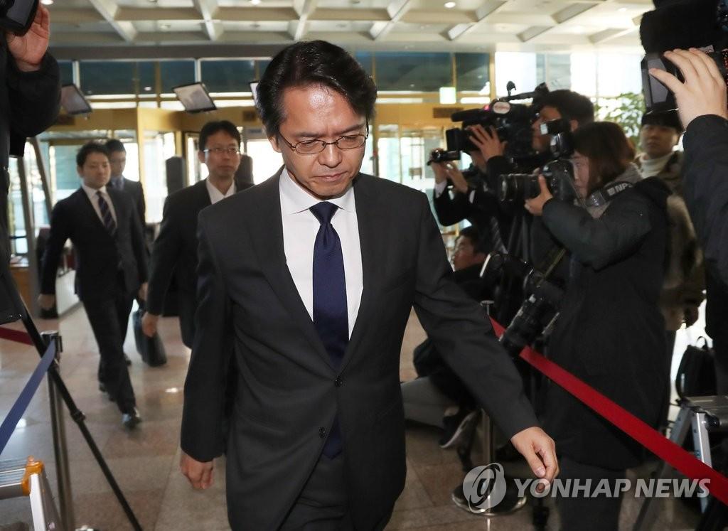 韩政府召见日本驻韩大使馆公使