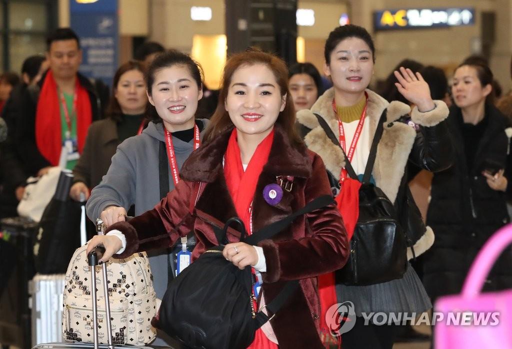 中企500人会奖旅游团访韩