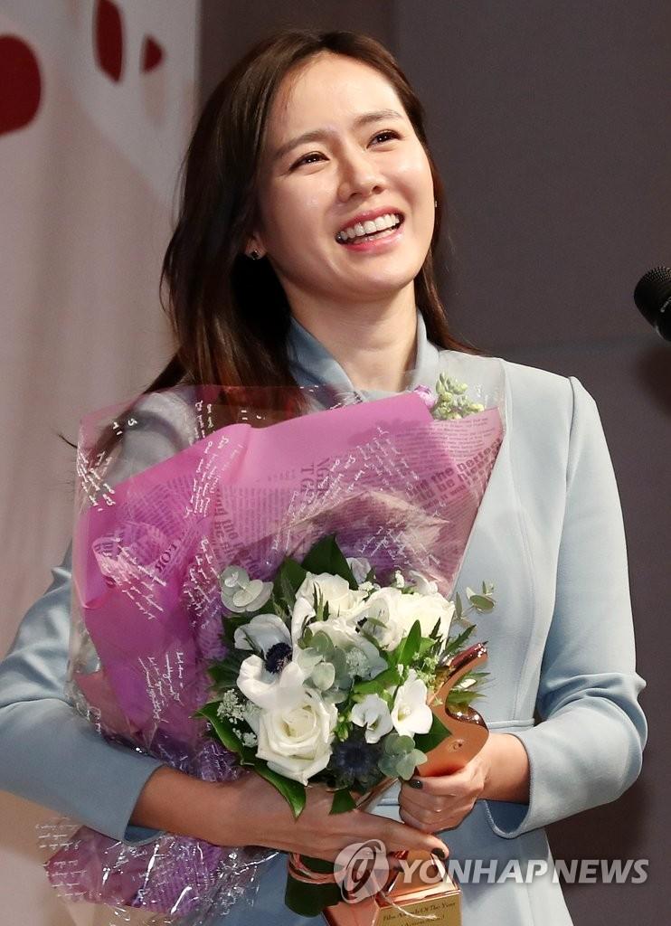 孙艺珍获最佳女主演奖