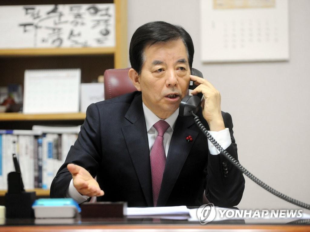韩美防长通电话