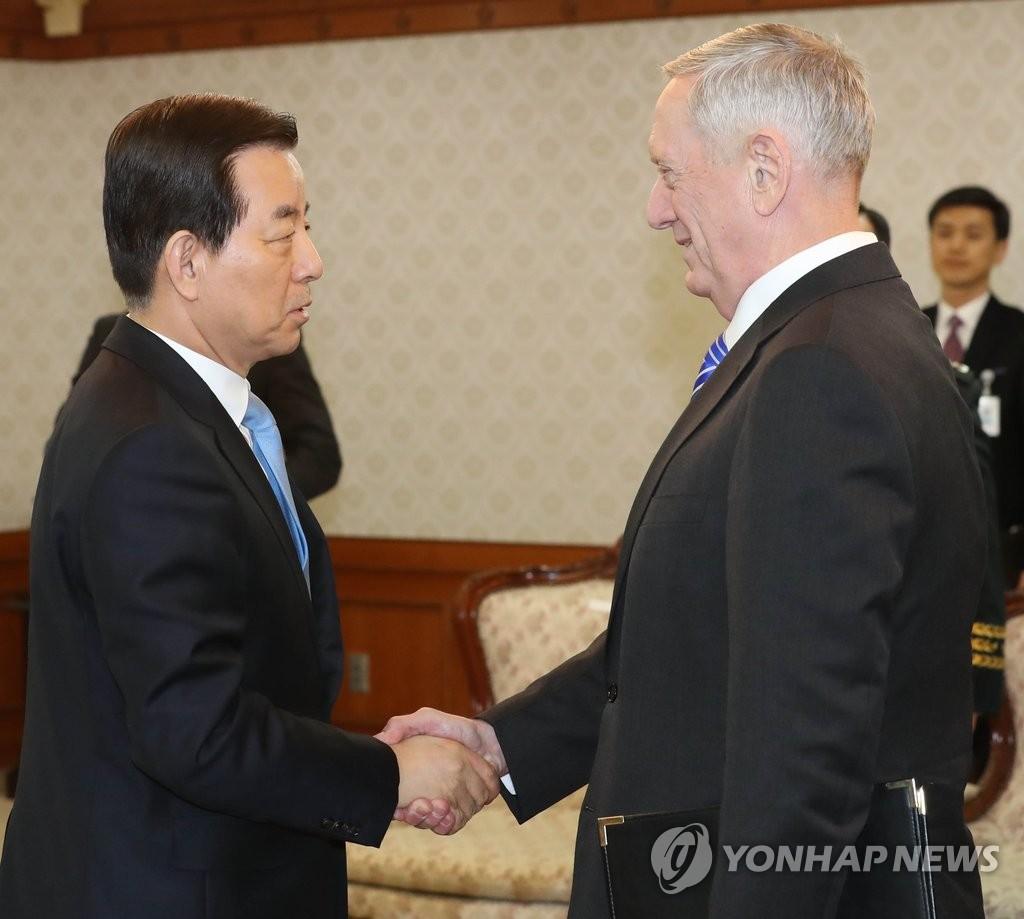 韩美防长会晤