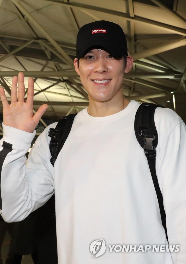 朴泰桓赴澳大利亚悉尼训练