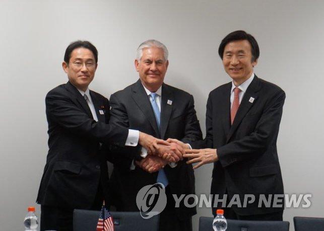 韩美日外长会晤