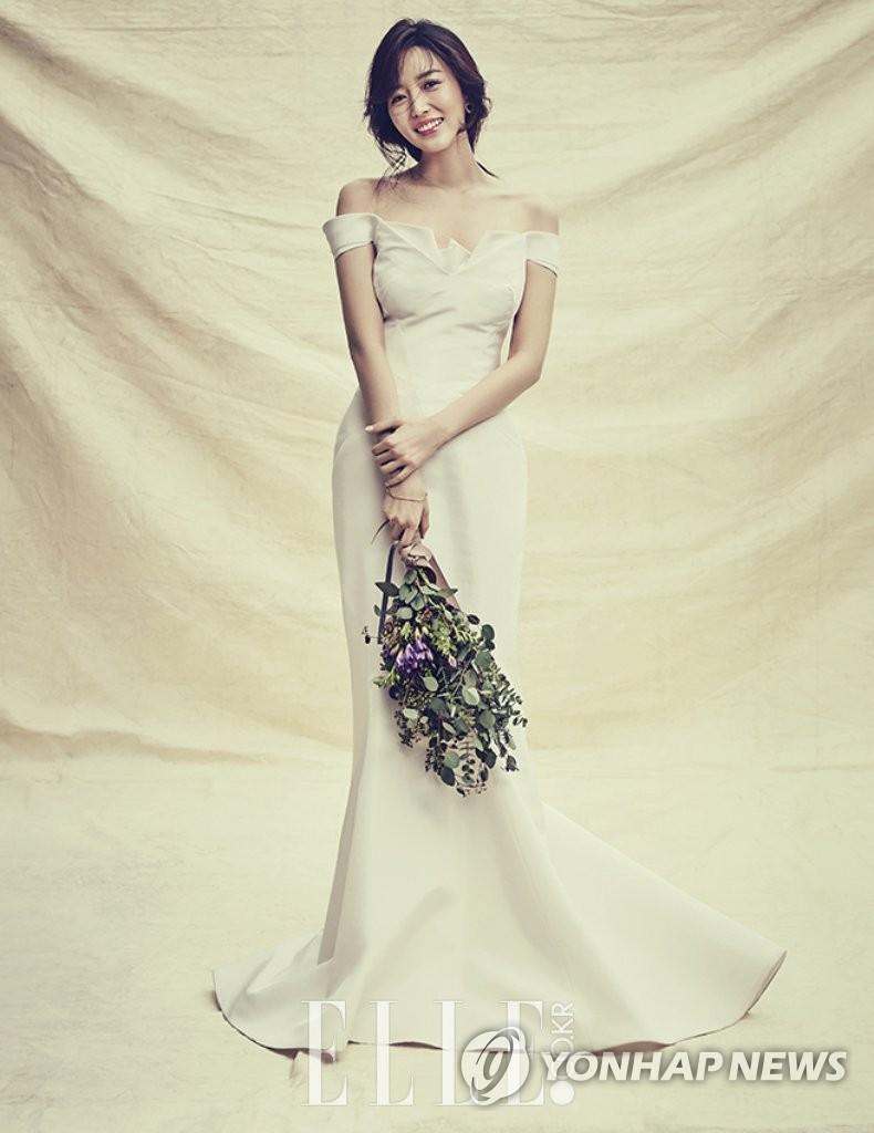 主播金素英婚纱照