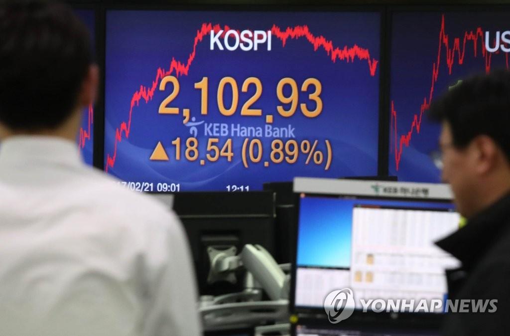 韩综股时隔19个月突破2100关口