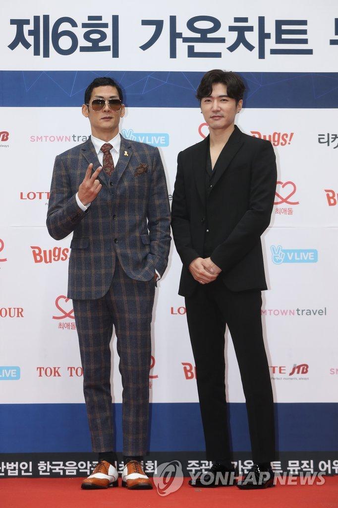 男团god朴俊亨和Danny Ahn