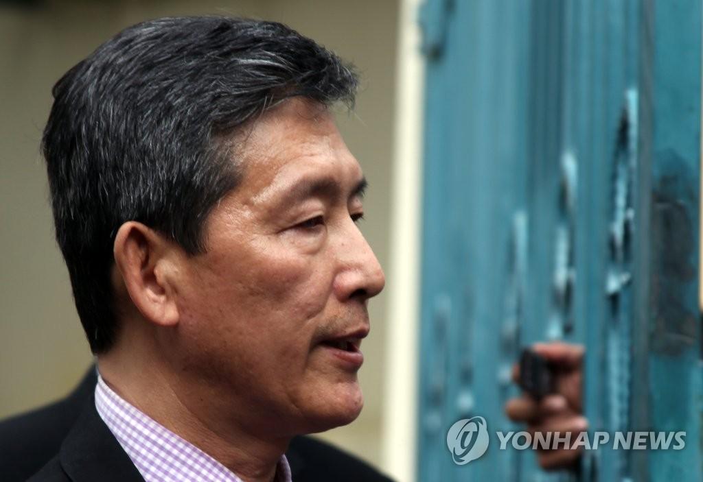 前朝鲜常驻联合国副代表李东日(韩联社)