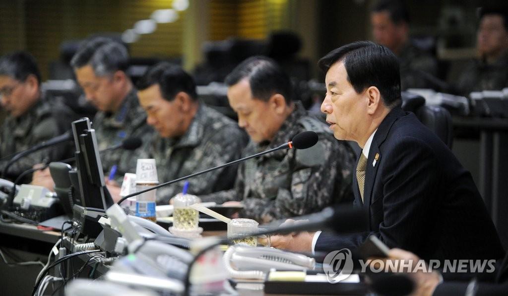 韩防长要求全军严阵以待消除民众不安
