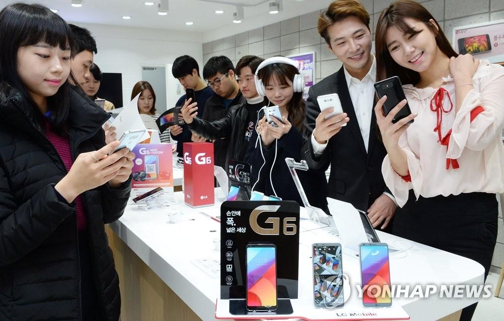 LG智能手机G6热销