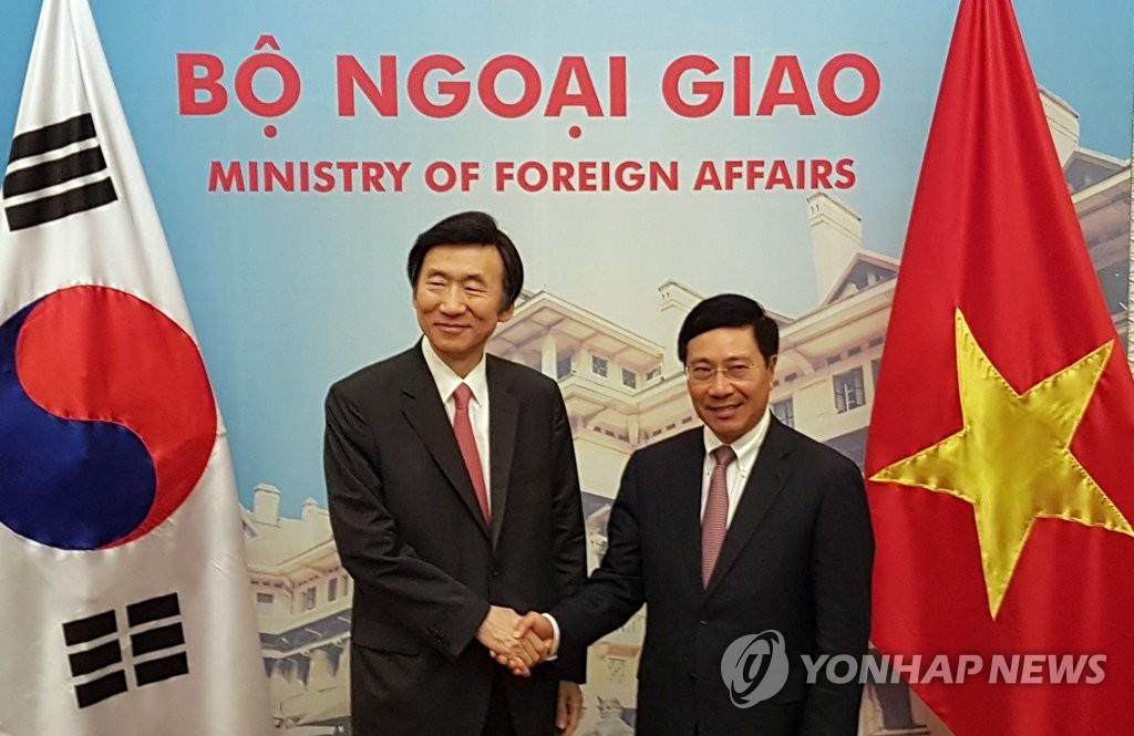 韩越外长共商施压抗衡朝核威胁