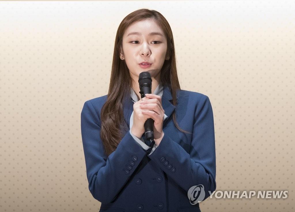金妍儿接受采访