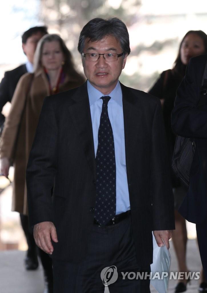 六方会谈美方团长访问韩外交部