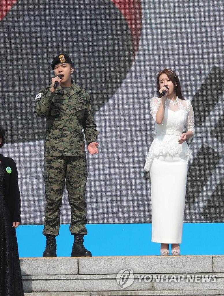 纪念西海守护日李昇基献唱