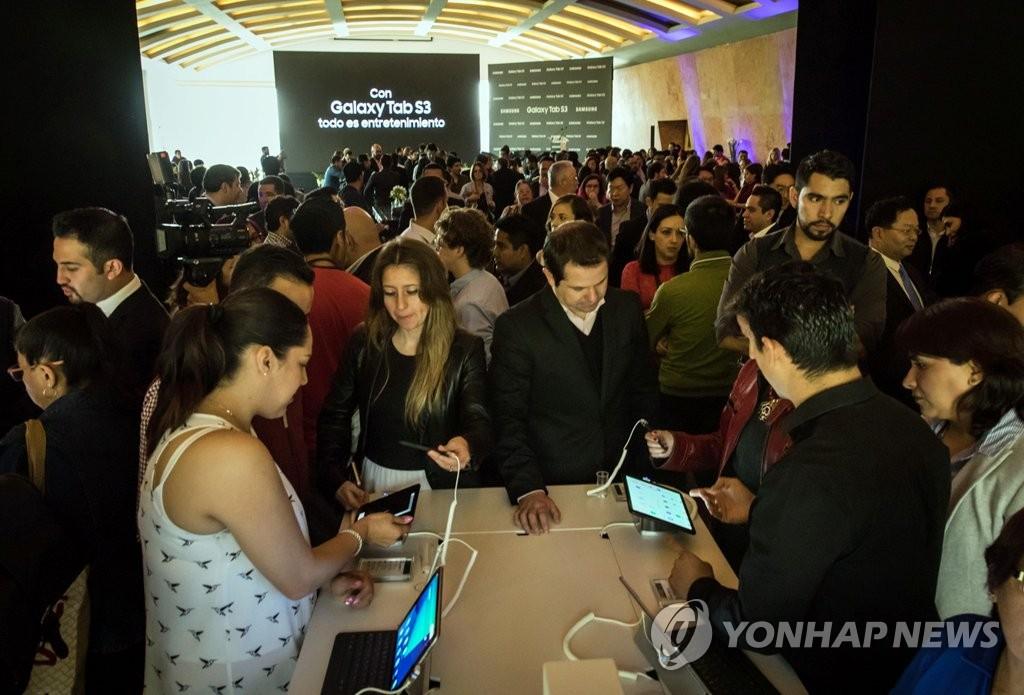 三星Galaxy Tab S3登陆墨西哥