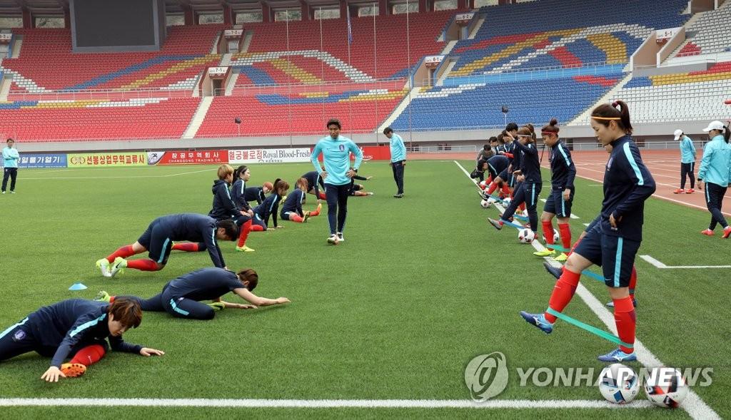 韩统一部:韩女足在朝平安无事
