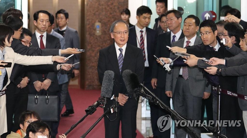 日驻韩大使返韩