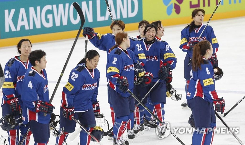女子冰球世锦赛:韩国8-1胜澳大利亚