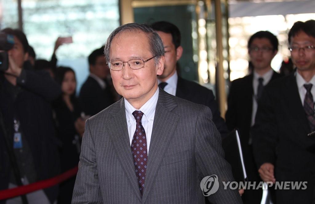 韩国防副部长会日本大使谈半岛局势