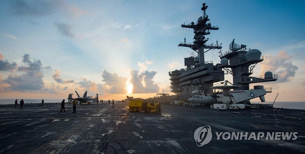 美三艘航母下周抵半岛战区抗衡朝鲜挑衅