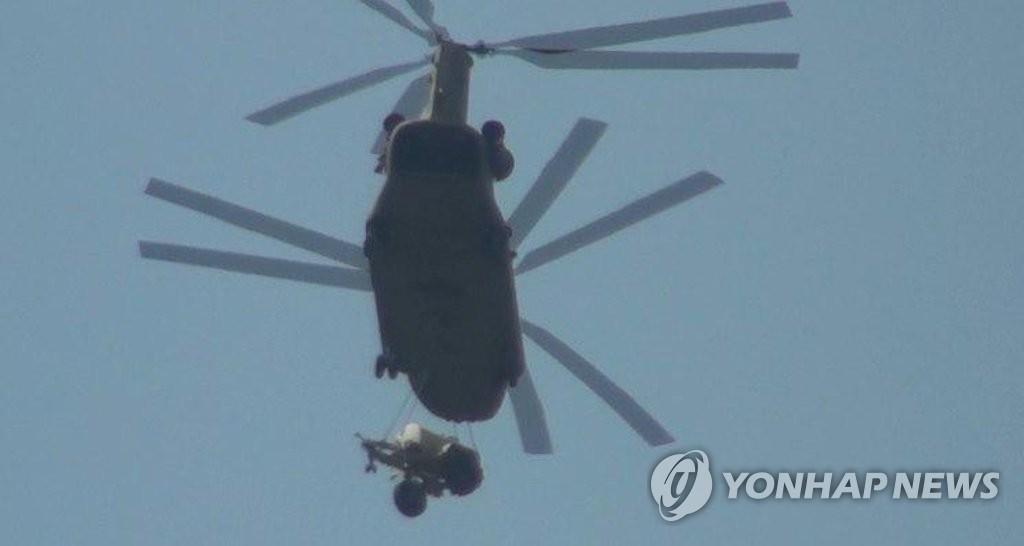 空运助力萨德入韩