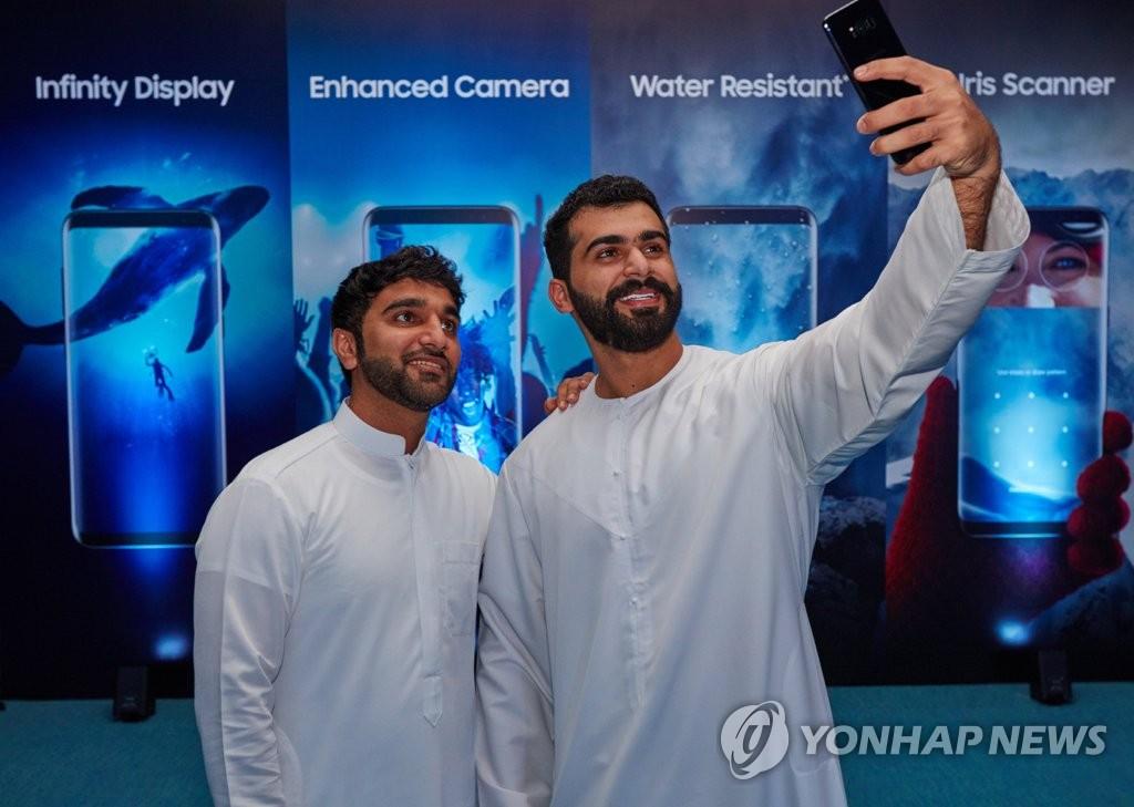 三星Galaxy S8系列登陆中东