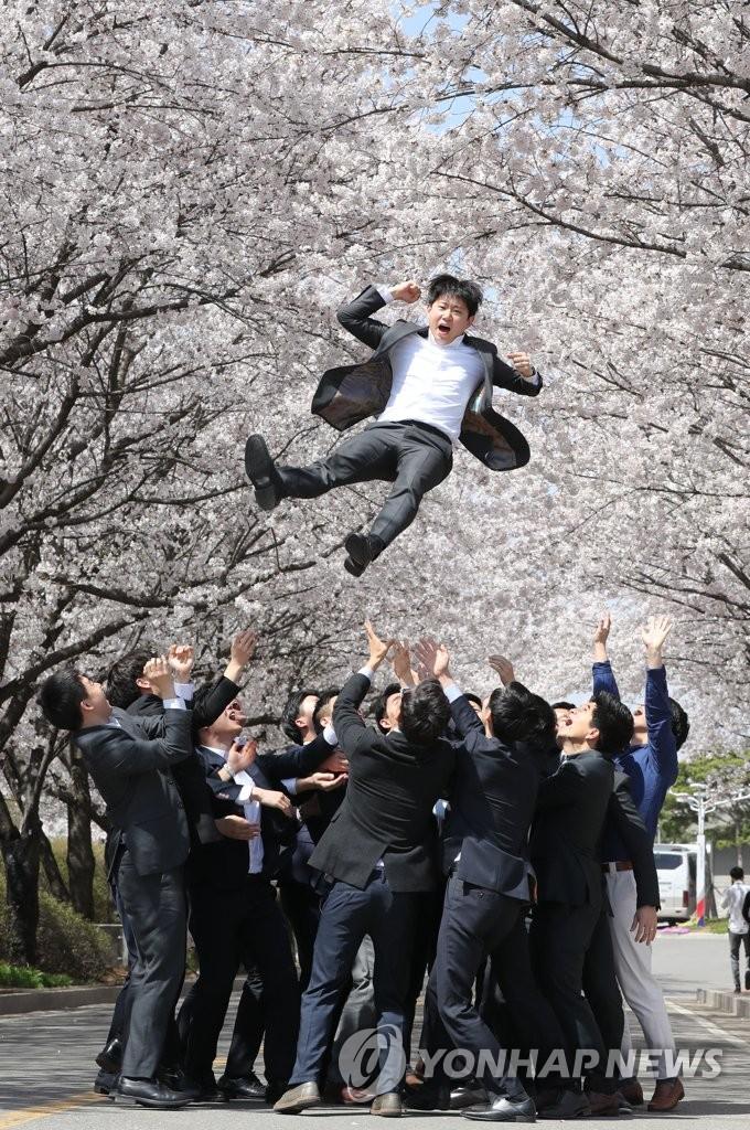韩亚新员工好像八九点钟的太阳