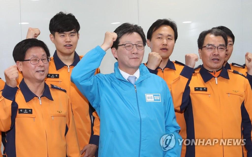 正党刘承旼启动拉票角逐韩总统
