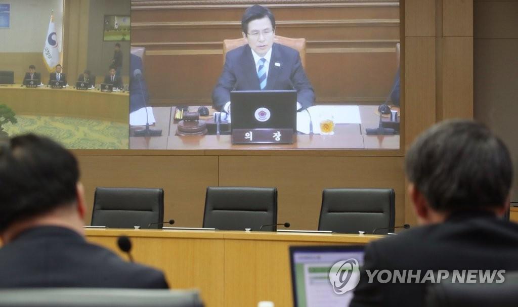 韩代总统:若朝挑衅韩将采取空前严厉的措施