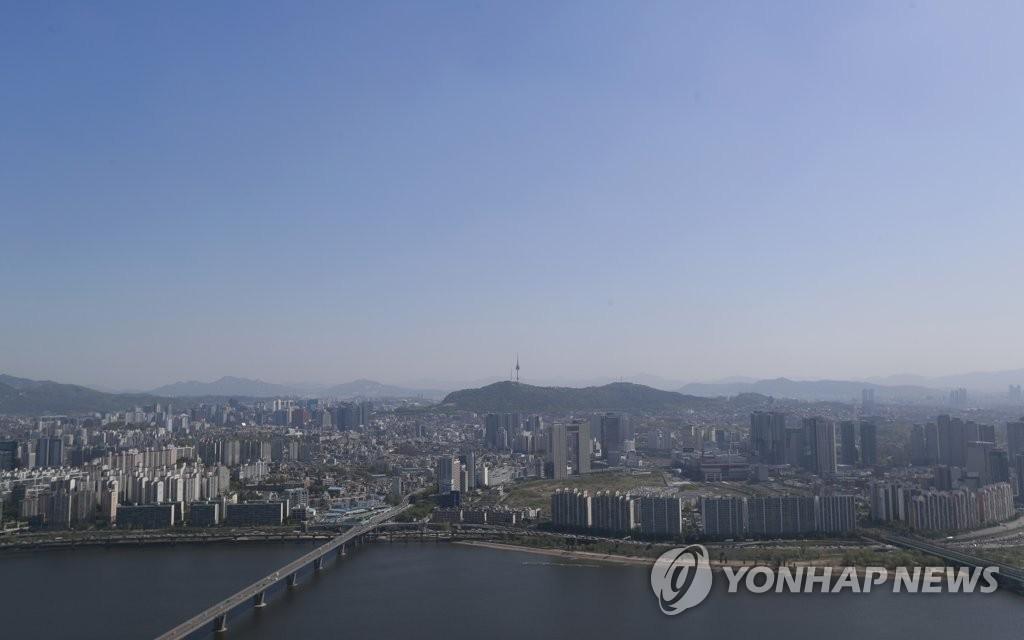 空中看首尔