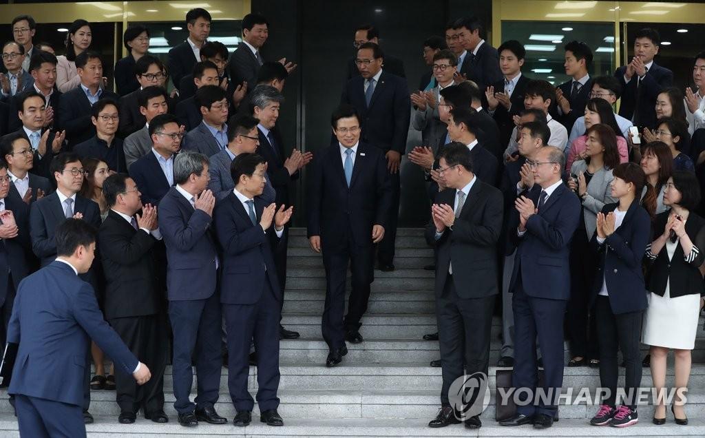 总理黄教安离任