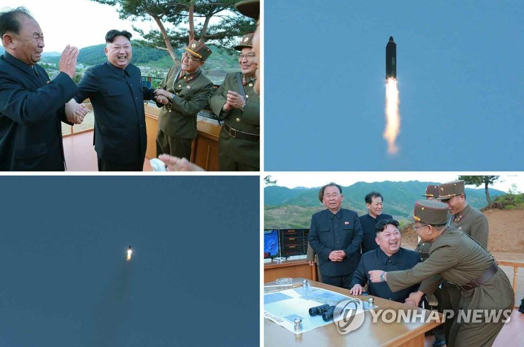 朝媒称朝成功试射新型导弹