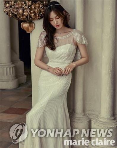 金素妍公开婚纱照