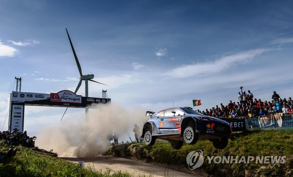 WRC现代车队葡萄牙站包揽两座奖杯