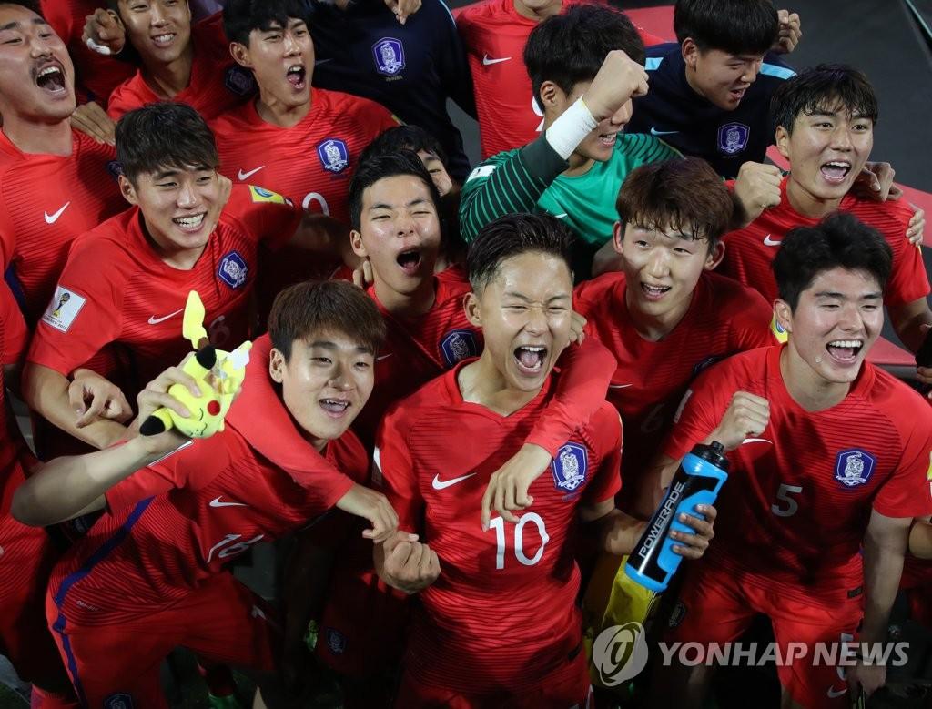 韩国提前晋级世青赛16强