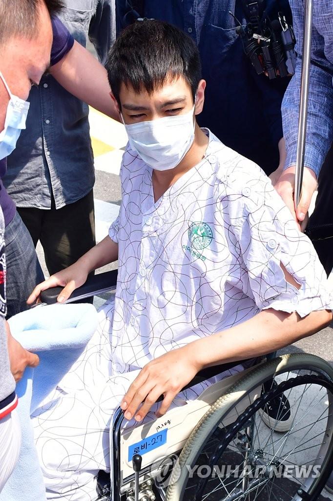 BIGBANG成员T.O.P转院