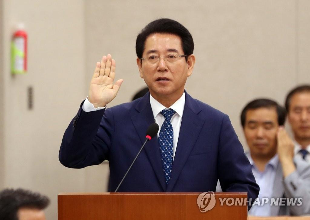 韩农林部长官人选听证会