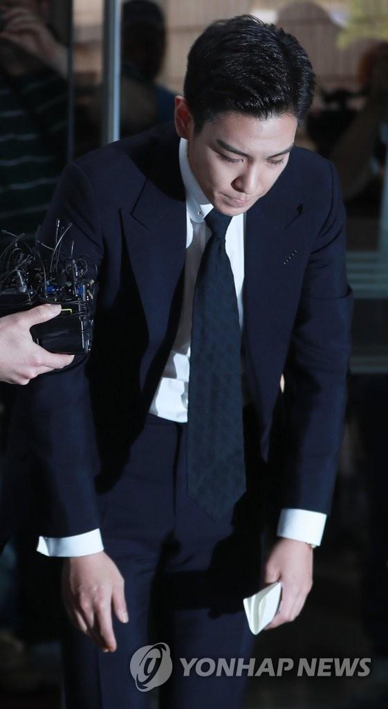 T.O.P出庭受审