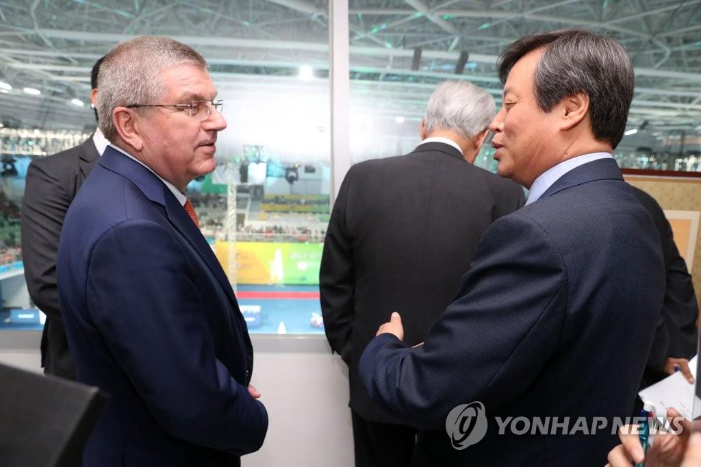 韩朝体育首长将会国奥委主席共商参奥事宜