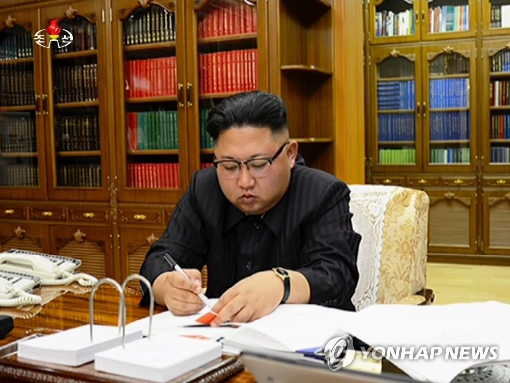 金正恩签字批准发射洲际导弹