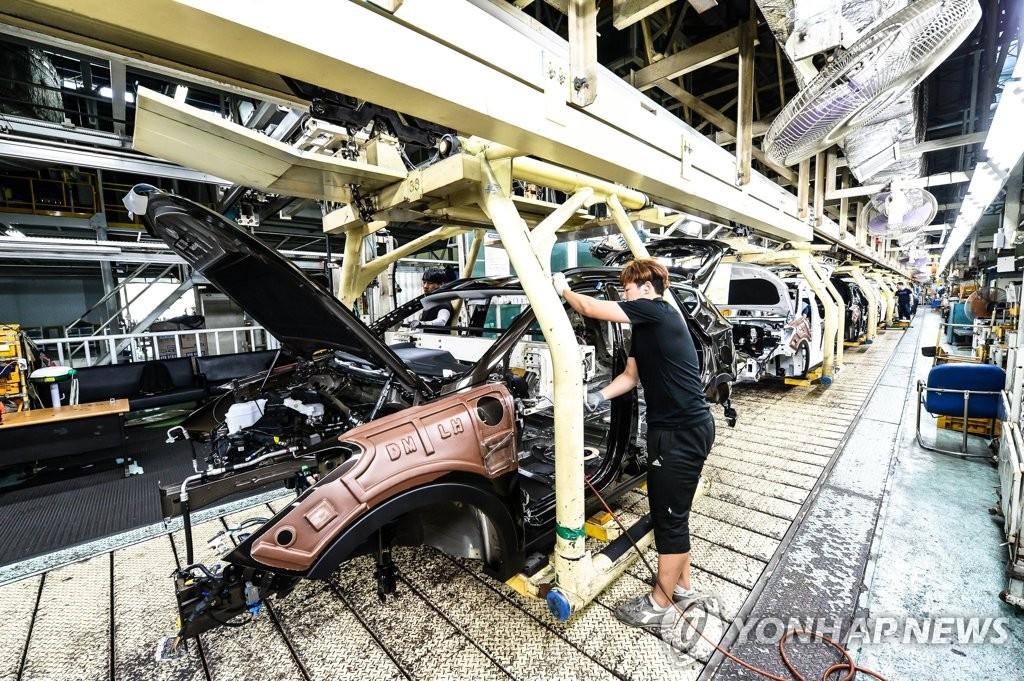 详讯:现代因部分中国造零部件断供暂停全车型生产