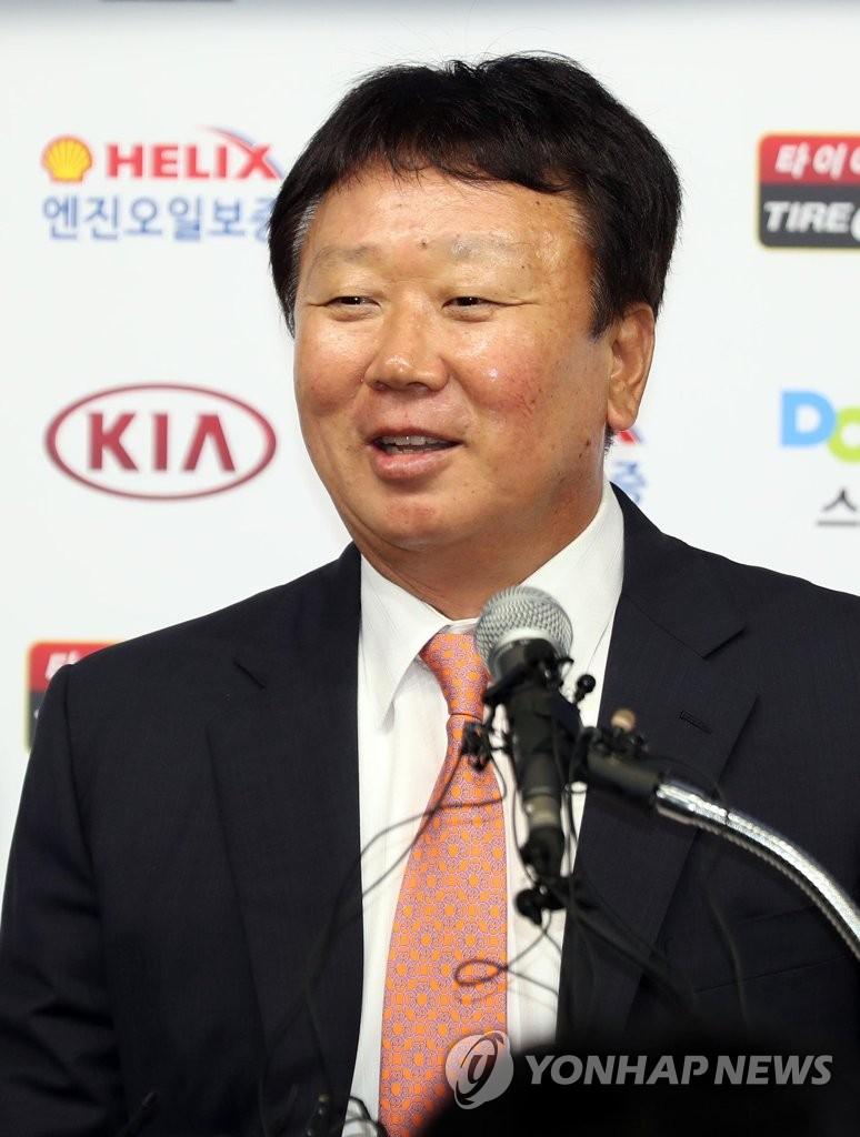 宣铜烈掌帅韩国国家棒球队