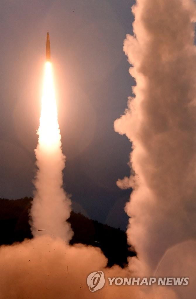 韩美实施拦截弹道导弹训练