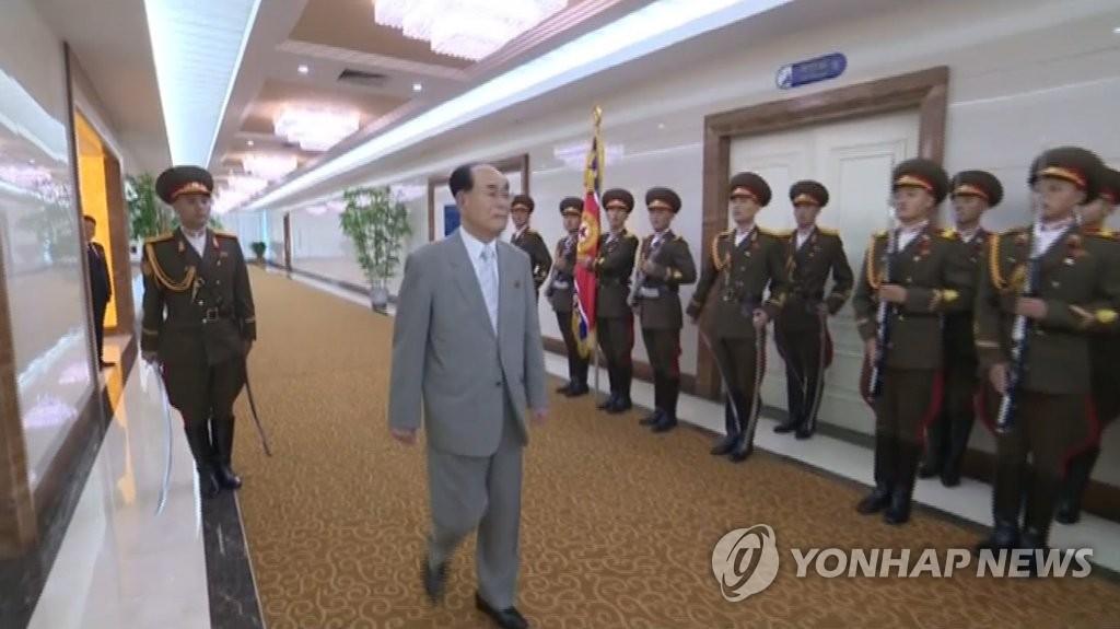 朝鲜金永南启程前往伊朗