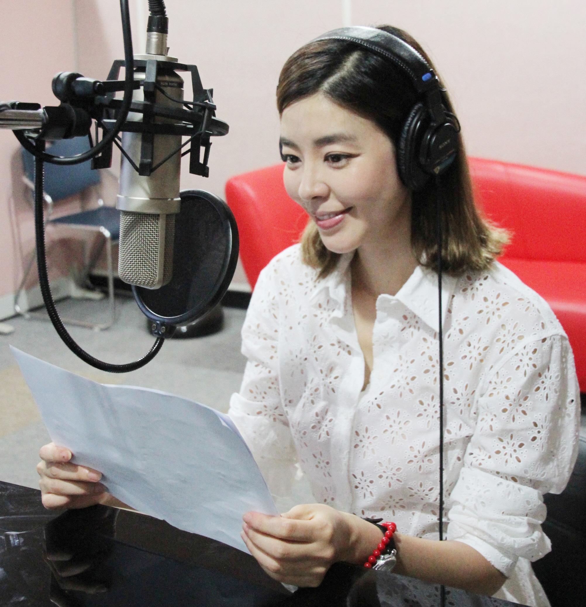金圭丽参与平昌冬奥宣传视频制作