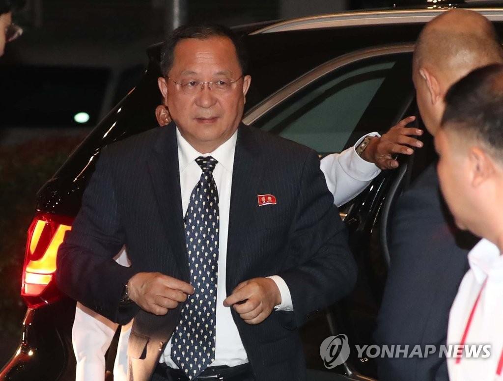 朝鲜外务相抵达马尼拉