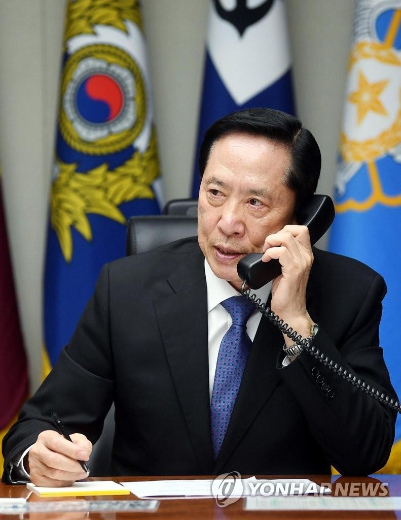 韩美防长通话商讨朝核