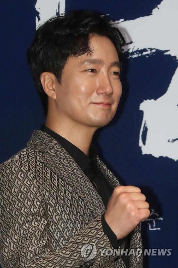 演员朴海日笑容迷人